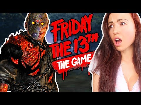 FRIDAY THE 13th GAME - GET OUT!!