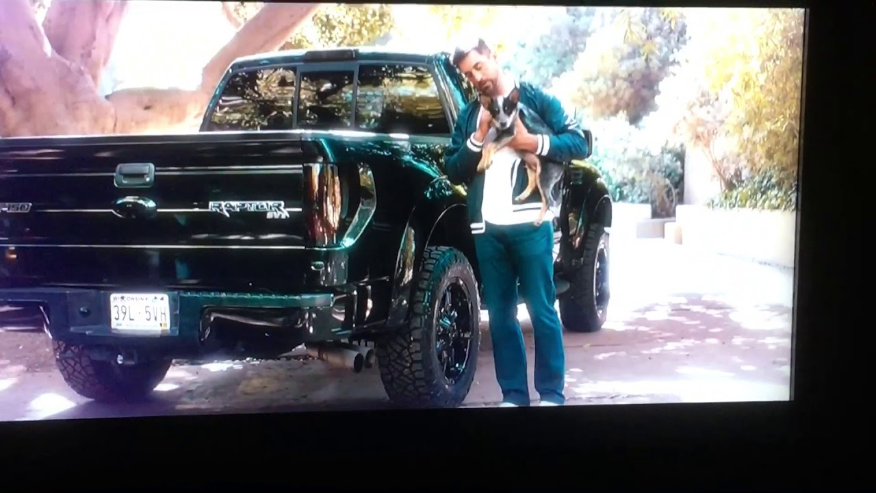 Aaron Rodgers State Farm Commercial With Ford Truck Youtube