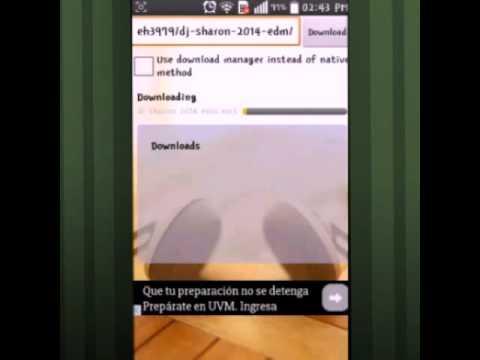 Descargar musica de - Mixcloud... desde android