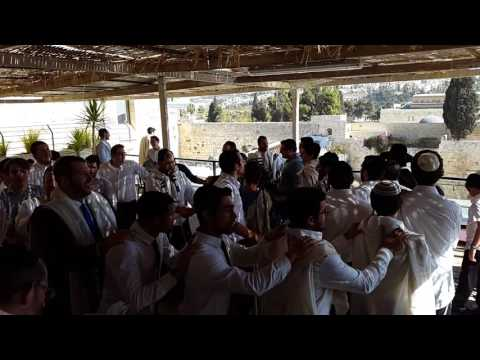 Simchas Torah at Aish HaTorah part 2
