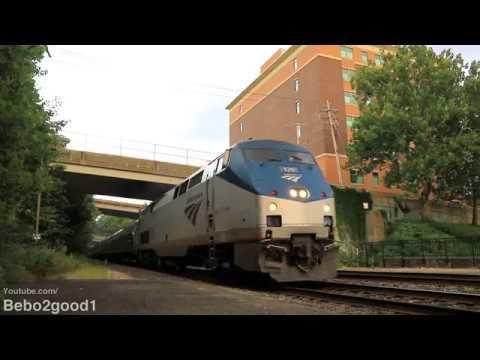 Amtrak Pennsylvanian Train 43 at Greensburg, PA RR (P42DC #125)