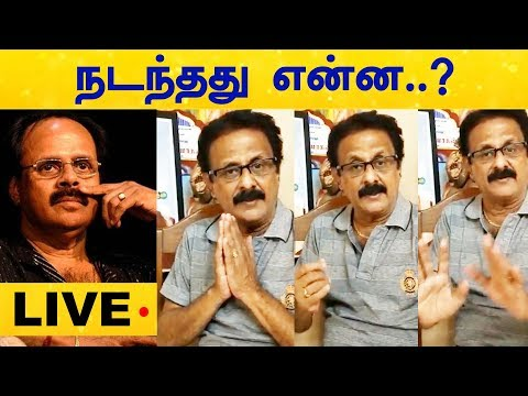 LIVE: What Happened to Crazy Mohan..? His Brother gets Emotional | Maadhu Balaji | RIP Crazy Mohan
