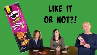 Like It or Not?! EP19: NEW Pringles Scorchin' BBQ