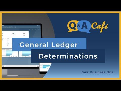 Q&A Café: General Ledger Determinations in SAP Business One