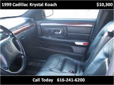 1999 cadillac krystal koach used cars grand rapids mi for Used car motor mall gr