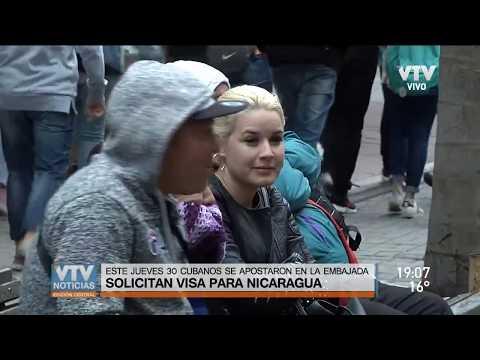 La embajada de Nicaragua entregó 1.200 visas a cubanos que viven en Uruguay desde febrero