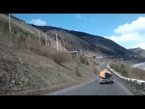 Дорога Иркутск Бодайбо