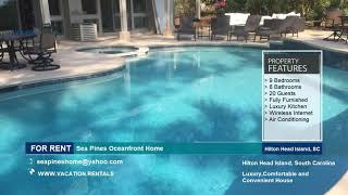 South Carolina | Vacation Rentals | Sea Pines Oceanfront Home | Hilton Head Island