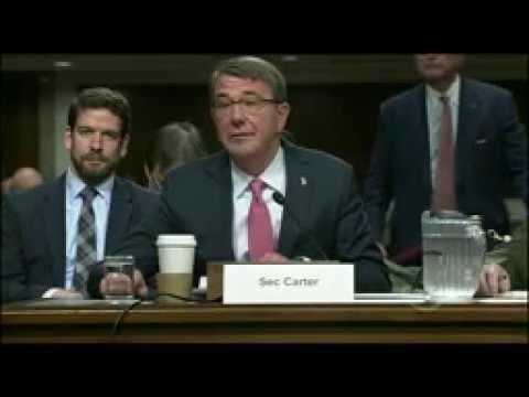 NATO w/ Article/CC: 09-22-16.Testimony of Def. Sec. Carter & Gen. Dunford at Senate Hearing.