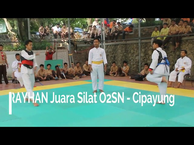 Rayhan Raka Juara Silat O2SN - Cipayung