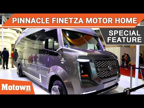 Pinnacle Finetza Motor Home | Special Feature | Motown India