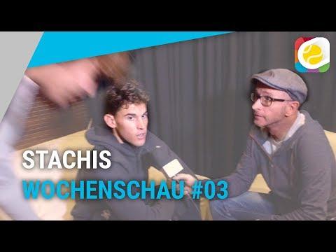 Interviewcrash bei Dominic Thiem | Stachis Wochenschau #03 | myTennis