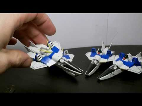 1/100 MG V Dash Gundam (Core Fighter Combinations) Review Part 1