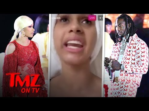 Offset Apologizes To Cardi B On Stage | TMZ TV