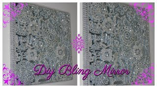 DIY HOME DECOR DECORATIVE BLING MIRROR
