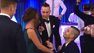 Zaręczyny na weselu/ engagement surprise wedding