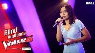 แนน - เขียนฝันไว้ข้างฝา - Blind Auditions - The Voice Thailand 6 - 19 Nov 2017