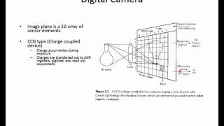 CSCI 512 - Lecture 02-1 Sensors and Image Formation