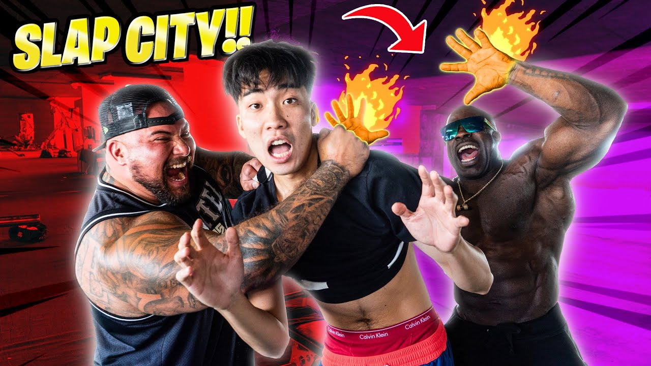 WE FOUND RICE GUM & FORCED HIM TO WORKOUT | Kali Muscle + Big Boy + RiceGum