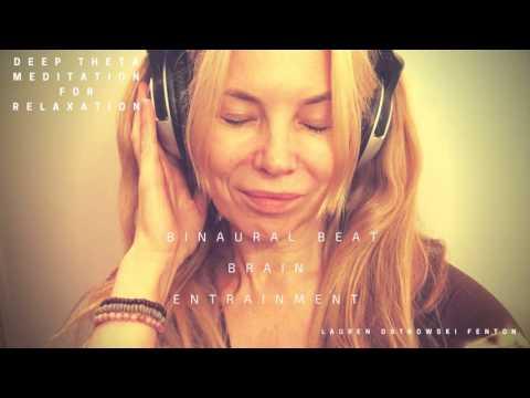 Deep Theta Meditation For relaxation -  ASMR & Binaural beat( head phones a must)