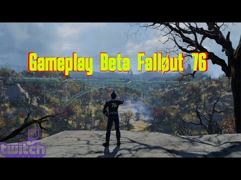 Fallout 76 ITA IN SOLITARIA Gameplay BETA LIVE di Twitch