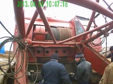 замена каната на кране скг-63/100 1