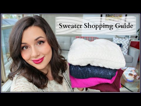 Sweater Guide | Shopping Tips