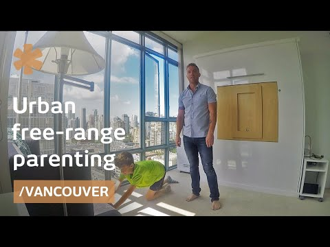 Vancouver dad on raising 5 free-range kids in city apartment