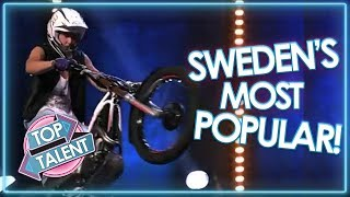 MOST VIEWED ACTS On Sweden's Got Talent! | Top Talent