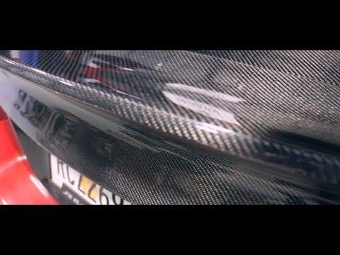 SEIBON CARBON FIBER trunk + duckbill on 2013 civic si coupe!!