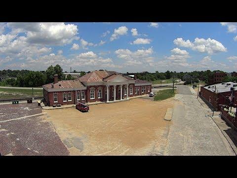 A View of Petersburg, Va - From The Appomattox River Bridge