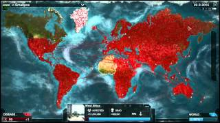 Plague inc: Evolved - Ep 13 -Bacteria MEGA BRUTAL! ~4 stars~