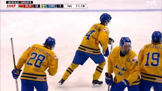 Dahlin gets two assists in Sweden