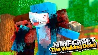 minecraft the walking dead sharky gets bitten