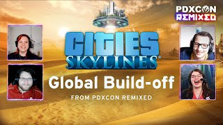 Global Build-Off Finale: Vanilla Suburbs   PDXCON Remixed 2021   Cities: Skylines