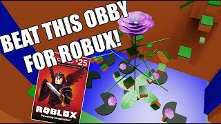 Can YOU Beat this Obby for ROBUX? Very few can...