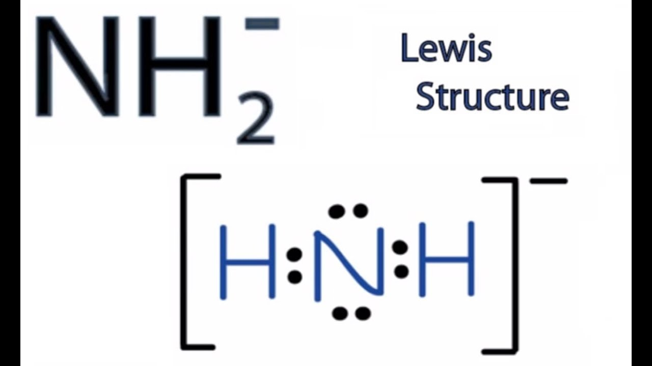 medium resolution of nh2 lewis structure how to draw the lewis structure for nh2