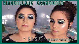 Tutorial de maquillaje con la paleta Elsa | Elsa de beauty creations |