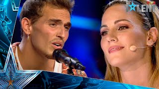This singer FALLs IN LOVE with his UNPUBLISHED SONG | Auditions 2 | Spain's Got Talent 2021