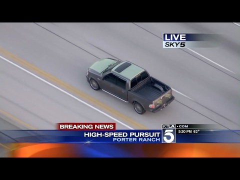 Los Angeles High Speed Chase (February 23, 2015) 135mph Pursuit