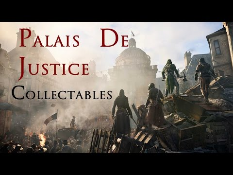 Assassin's Creed Unity - Free Roam #3 - Paris - Palais De Justice Collectables