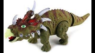 Распаковка игрушки динозавра