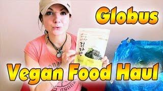 VLog #314: Globus Vegan Food Haul | Veganes Fast Food & Snacks