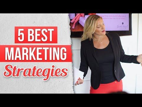 5 Best Marketing Strategies