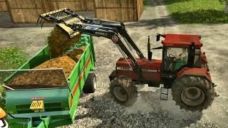 Farming Simulator 2015 - Case IH 1455 XL Loading Manure