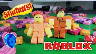 ROBLOX TOYS made from STARBURST candy/ DIY/ #robloxtoys