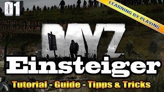DayZ [DEUTSCH] #01 - EINSTEIGER TUTORIAL mit Tipps und Tricks - DayZ [PC] [HD+]