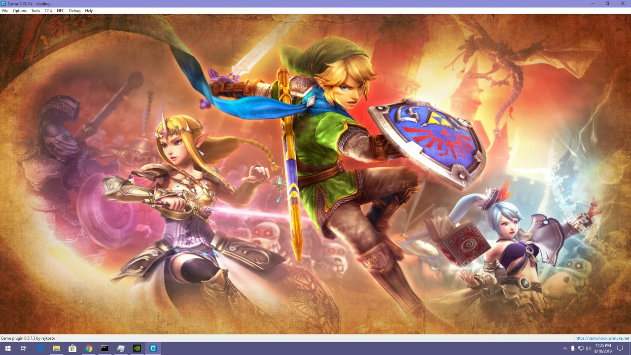 For some reason, everybody is Link (Cemu 1 15 Hyrule Warriors)