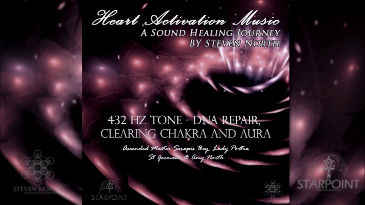 432 Hz Song of Love (Heart Activation Music) | Steven North