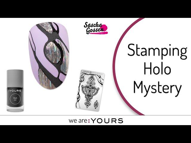 Stamping Nail art I Holo Mystery